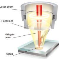 soldadura plástico laser bola