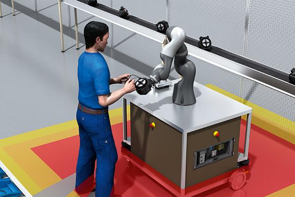 Sick seguridad robot colaborativo