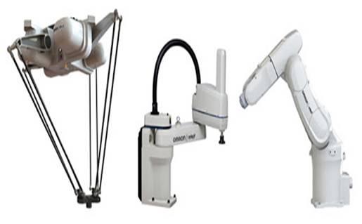 tipos de robot industrial